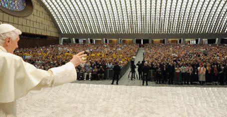 "Benedicto XVI / Audiencia General 21/11/2012: ""La fe no es ciega, trata de entender y demostrar que es razonable"""